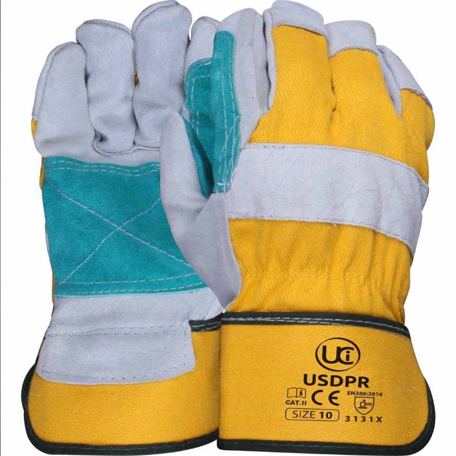 Double Palm Rigger Gloves One Size