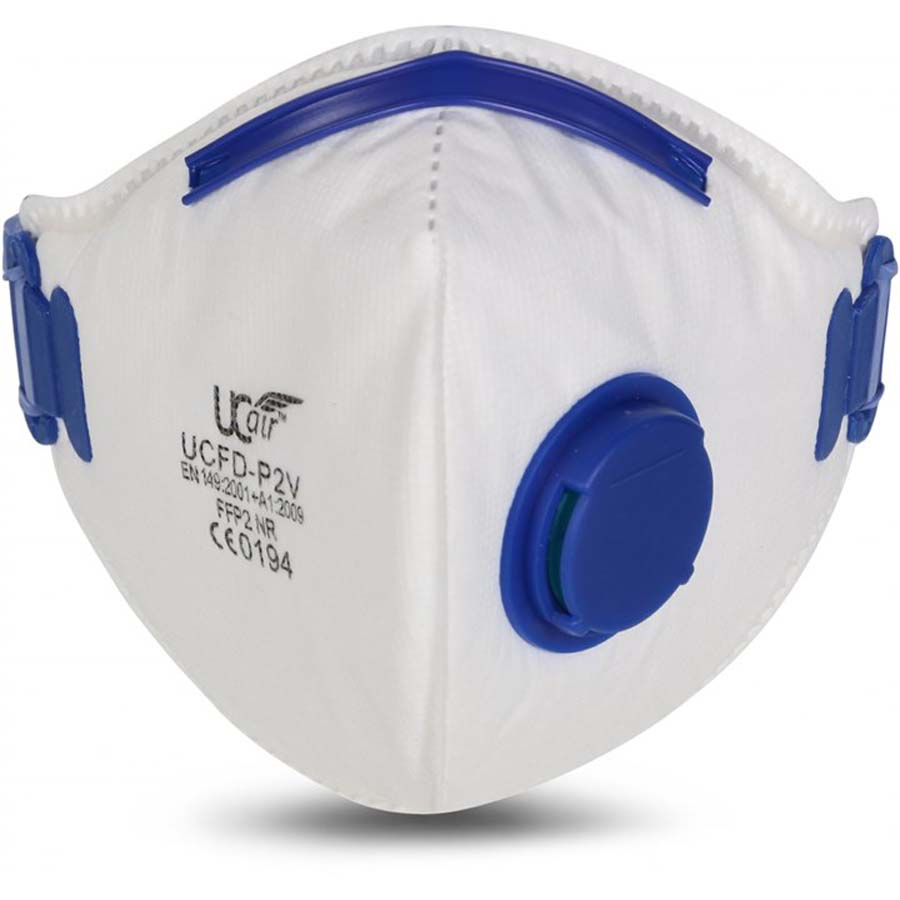 V-Fold Disposable Valved Respirator - FFP2 (10 masks per box)