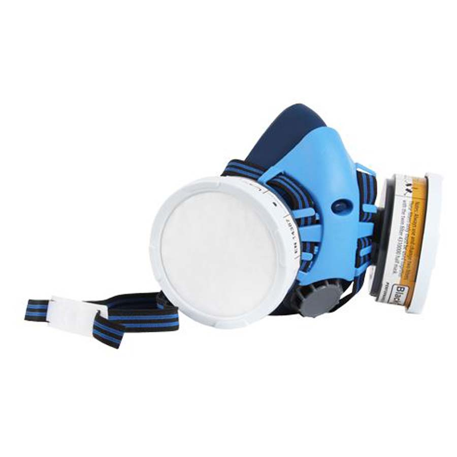 Twin Filter Re-useable Respirator with Cartridges